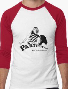 Ready to Party Men's Baseball ¾ T-Shirt