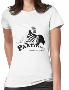 Ready to Party Womens Fitted T-Shirt