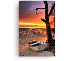 Sunset Bribie Island Canvas Print
