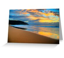 Reflections of Day - Palm Beach - Sydney Beaches - The HDR Series Greeting Card