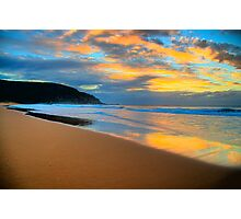 Reflections of Day - Palm Beach - Sydney Beaches - The HDR Series Photographic Print