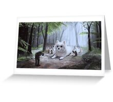 Beast Of A Million Beasts Greeting Card
