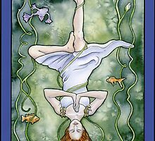 The Hanged One Tarot Card by WinonaCookie