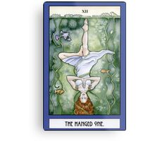The Hanged One Tarot Card Metal Print