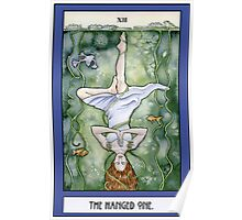 The Hanged One Tarot Card Poster