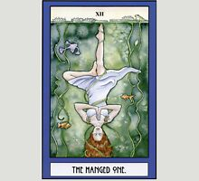 The Hanged One Tarot Card Womens Fitted T-Shirt