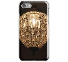 Ceiling Fixture With Sparkle iPhone Case/Skin