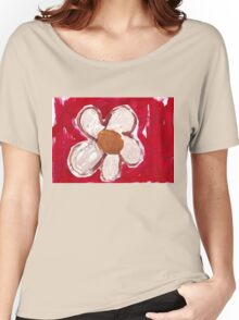 Note Flower Women's Relaxed Fit T-Shirt