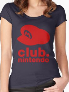 Club Nintendo Women's Fitted Scoop T-Shirt