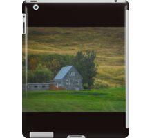 Autumn in the Icelandic Countryside iPad Case/Skin