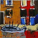 Italian Fishing Boat by Alison Howson