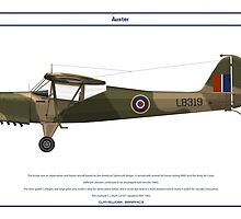 Auster GB 1 by Claveworks