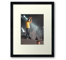 Reverend And The Makers Live @ 3VOLUTION Framed Print