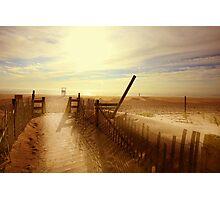 Nauset Beach, Early Morning. Photographic Print