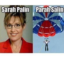 Sarah Palin Parasailin by typicalgeek