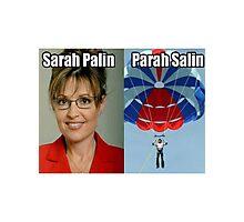 Sarah Palin Parasailin Photographic Print