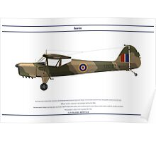 Auster GB 2 Poster