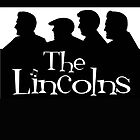 The Lincolns - Black Background by Sharon K