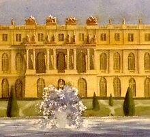 Versailles, Garden Facade by Xandyclause