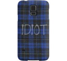 Idiot Flannel 5 Seconds of Summer Phone Case Samsung Galaxy Case/Skin