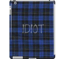Idiot Flannel 5 Seconds of Summer Phone Case iPad Case/Skin