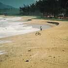 Bike on the beach by julie08