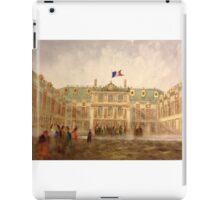 Versailles, The Gilded Facade  iPad Case/Skin