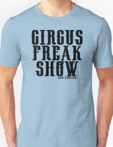 CIRCUS FREAK SHOW - ZAP CIRCUS Black T-Shirt