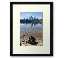 Boulder Framed Print