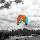 Paragliding by Xandru