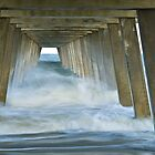 Tybee Pier Incoming Tide 1 by Charlie