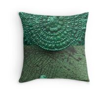 Mayan Shield Throw Pillow