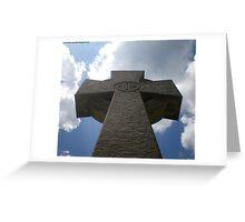 Towering Above Us Greeting Card