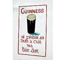 It is IRISH Photographic Print