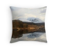 Ben Nevis and the Caledonian Canal. Throw Pillow