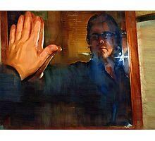 Man In The Mirror - Self Portrait Photographic Print