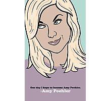 Amy Poehler Photographic Print