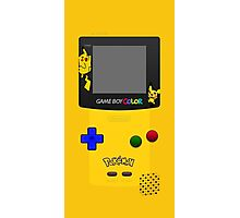 Pokemon Pikachu and Pichu Nintendo Gameboy Color Photographic Print