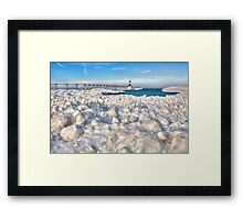 Winter on the North Side of America Framed Print