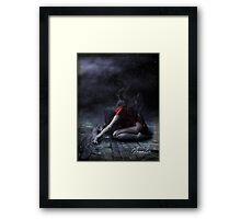 Soul In Cage Framed Print