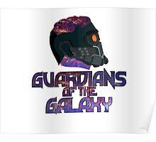 Star-lord GOTG Logo Alt Poster