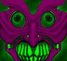 Psych mask by Centrelinksnob