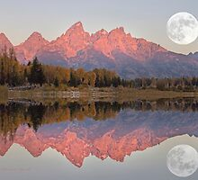 Teton Morning by Charlene Aycock