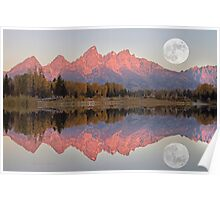 TETON MORNING Poster
