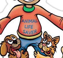RESCUES ANIMALS APPRECIATE YOU MORE Sticker