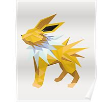 Origami Jolteon Poster