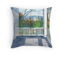 Grandma's Porch Throw Pillow