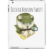 Detective Olivia Benson Swift iPad Case/Skin