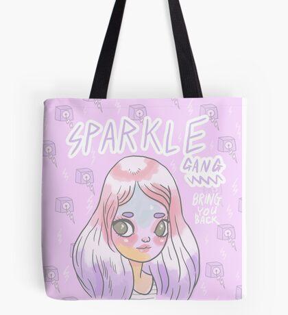 Sparkle Gang - Bring You Back - ZZAAPP002 - Art by Mel Stringer Tote Bag