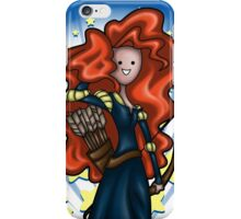 Princess Time - Merida iPhone Case/Skin
